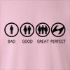Bad Good Great Perfect Life - Hyundai  Crew Neck Sweatshirt