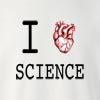 I Love Science Crew Neck Sweatshirt