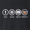 Bad Good Great Perfect Life - Cadillac Crew Neck Sweatshirt