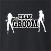 Team Groom Crew Neck Sweatshirt