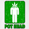 Pot Head T-shirt Weed Marijuana 420 Tee