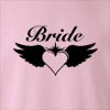 Bride Wings Crew Neck Sweatshirt