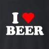 I Love Beer Crew Neck Sweatshirt