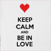Keep Calm And Be In Love Hooded Sweatshirt