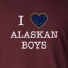 I Love Alaska Boys Long Sleeve T-Shirt