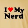I love my Nerd Long Sleeve T-Shirt