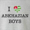 I love Abkhazian Boys Crew Neck Sweatshirt
