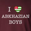 I love Abkhazian Boys Long Sleeve T-Shirt