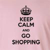 Keep Calm And Go Shopping Long Sleeve T-Shirt