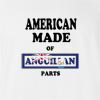 American Made of Anguilla Parts T Shirt