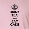 Drink Tea And Eat Cake  Long Sleeve T-Shirt