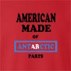 American Made of Antarctica Parts crew neck Sweatshirt