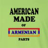 American Made of Armenian Parts Long Sleeve T-Shirt
