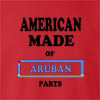 American Made Of Aruba  Parts crew neck Sweatshirt