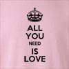 All You Need Is Love Crew Neck Sweatshirt