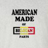 American Made of Belgium Parts T Shirt