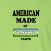 American Made of Bashkortostan Parts Long Sleeve T-Shirt