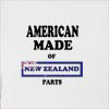 American made of new zealand parts Hooded Sweatshirt