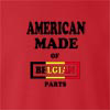American Made Of Belgium Parts crew neck Sweatshirt