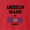 American Made Of BelizeParts crew neck Sweatshirt