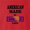 American Made Of Bosnia and Herzegovina Parts crew neck Sweatshirt