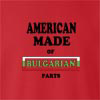 American Made Of Bulgaria Parts crew neck Sweatshirt