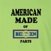 American Made of Belize  Parts Long Sleeve T-Shirt