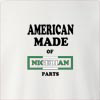 American made of nigeria parts Crew Neck Sweatshirt
