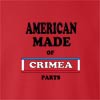 American Made Of Crimea Parts crew neck Sweatshirt