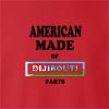 American Made Of Dijibouti Parts crew neck Sweatshirt