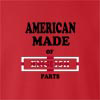 American Made Of England Parts crew neck Sweatshirt