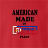 American Made Of Filipino Parts crew neck Sweatshirt