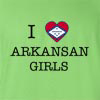 I Love Arkansas Boys T-Shirt