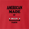 American Made Of Iraq Parts crew neck Sweatshirt
