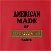 American Made Of Mauritania Parts crew neck Sweatshirt