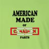 American Made of Canada Parts Long Sleeve T-Shirt