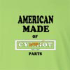 American Made of Cyprus Parts Long Sleeve T-Shirt