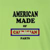 American Made of Cambodia Parts Long Sleeve T-Shirt