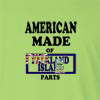 American Made of Falkland Island  Parts Long Sleeve T-Shirt