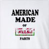 American Made Of Wales Parts Long Sleeve T-Shirt