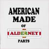 American Made Of Alderney Parts Hooded Sweatshirt