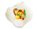 Personalized Silk Rose Petals Thanksgiving 100
