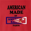 American Made Of American Samoa Parts crew neck Sweatshirt