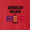 American Made Of Andorran  Parts crew neck Sweatshirt