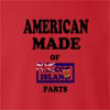 American Made Of Caicoa Island Parts crew neck Sweatshirt