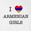 I Love Armenia Girls T-Shirt