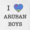 I Love Aruba Boys T-Shirt