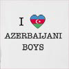 I Love Azerbaijan Boys Hooded Sweatshirt