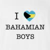 I Love Bahamas Boys T-Shirt