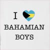 I Love Bahamas Boys Hooded Sweatshirt